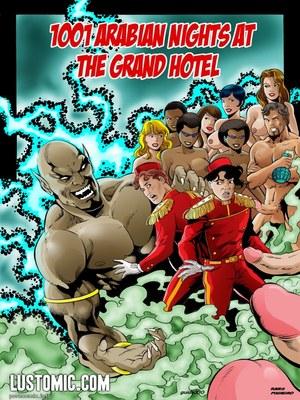 1001 Arabian Nights At The Grand Hotel 8muses Porncomics