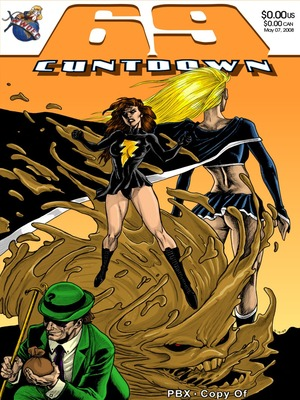 69 Cuntdown Mary Marvel- PBX 8muses Porncomics