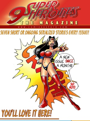 8muses Porncomics 9 Super Heroines – The Magazine 9 image 10