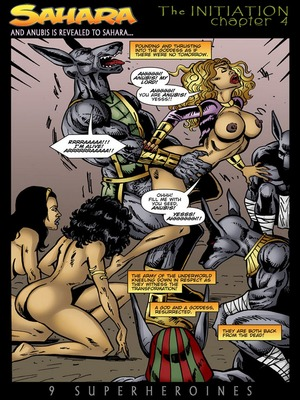 8muses Porncomics 9 Super Heroines – The Magazine 9 image 12
