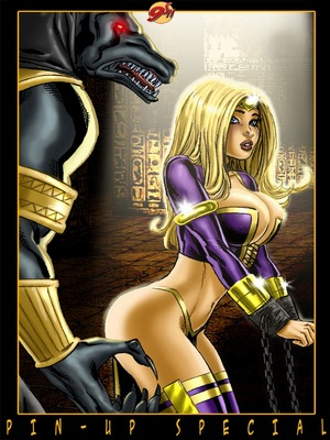 8muses Porncomics 9 Super Heroines – The Magazine 9 image 16