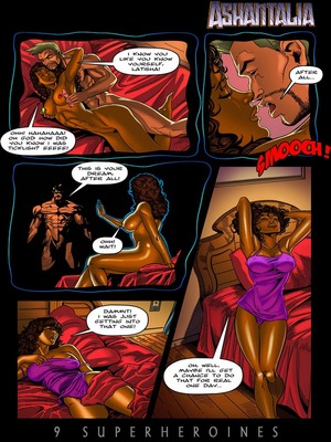 8muses Porncomics 9 Super Heroines – The Magazine 9 image 18