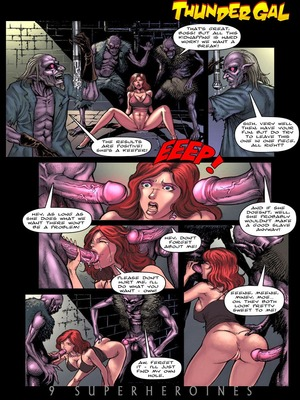 8muses Porncomics 9 Super Heroines – The Magazine 9 image 24