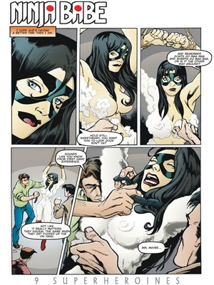 8muses Porncomics 9 Super Heroines – The Magazine 9 image 29