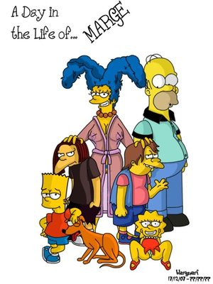 A Day in Life of Marge (The Simpsons) 8muses Incest Comics