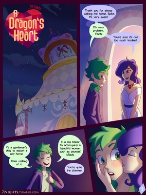A Dragon's Heart – My Little Pony 8muses Adult Comics