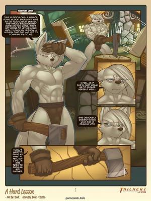 A Hard Lesson- Bonk 8muses Adult Comics