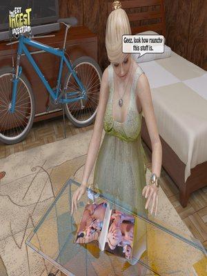 8muses 3D Porn Comics, Incest Comics A Mother Punishes Son image 04