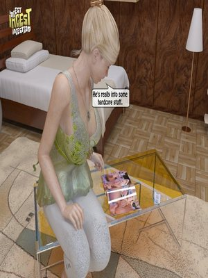 8muses 3D Porn Comics, Incest Comics A Mother Punishes Son image 05