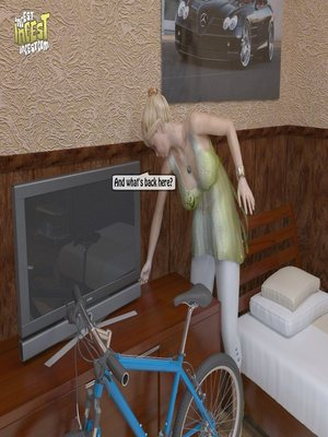 8muses 3D Porn Comics, Incest Comics A Mother Punishes Son image 06