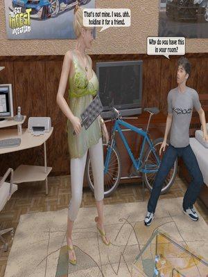 8muses 3D Porn Comics, Incest Comics A Mother Punishes Son image 11