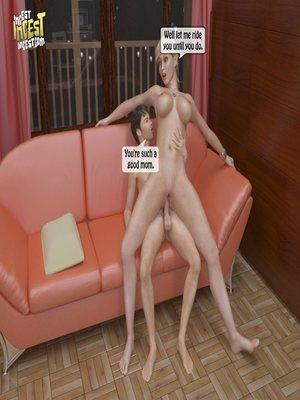 8muses 3D Porn Comics, Incest Comics A Mother Punishes Son image 46