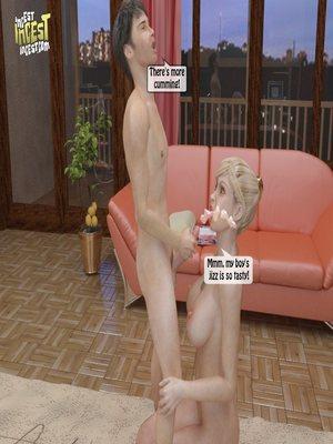 8muses 3D Porn Comics, Incest Comics A Mother Punishes Son image 49