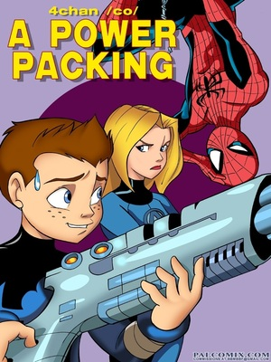 A Power Packing- Pal Comix 8muses Adult Comics
