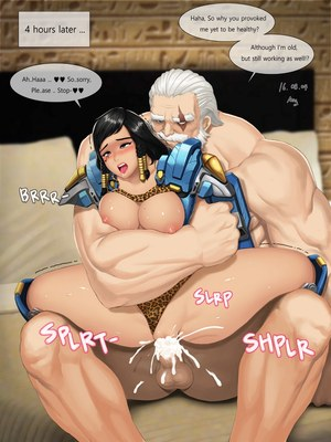 8muses Adult Comics ABBB – Overwatch image 13