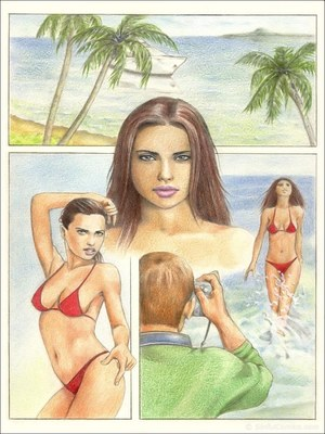 Adriana Lima- Sexy photo shoot, Sinful 8muses Adult Comics