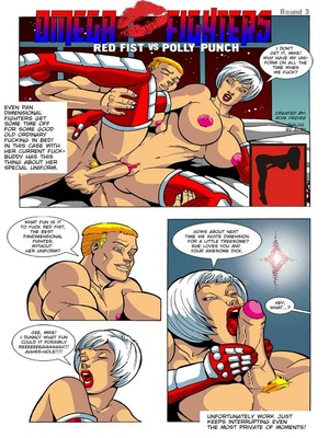Adventure- Omega Fighters 3-4 8muses Porncomics