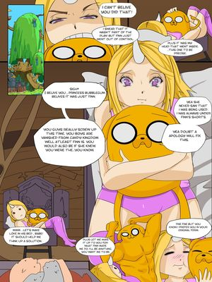 8muses Adult Comics Adventure Time- Desire For the Color Lust image 04