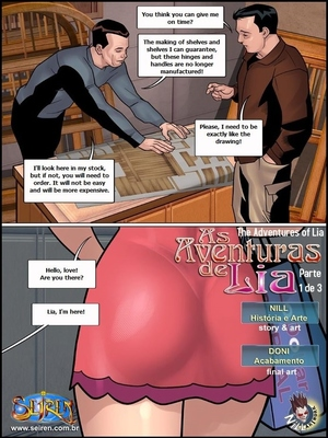 8muses Adult Comics Adventures of Lia 6 – Part 1- Seiren image 02