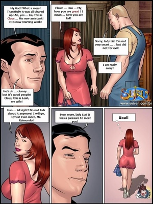 8muses Adult Comics Adventures of Lia 6 – Part 1- Seiren image 11