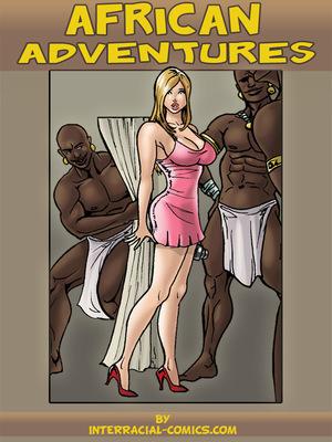 African Adventures- Interracial 8muses Interracial Comics