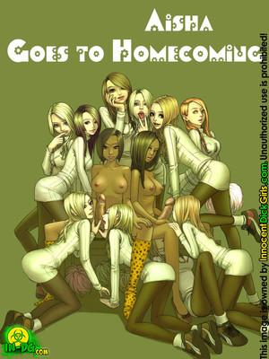 Aisha goes to Homecoming [Innocent DickGirl] 8muses Porncomics