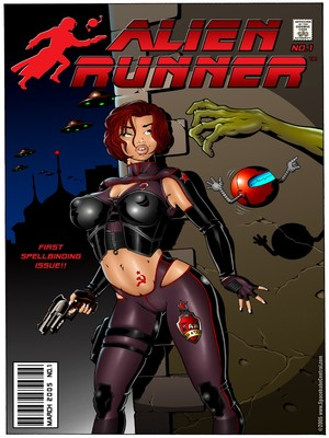 Alien Runner- Spacebabe Central 8muses Porncomics