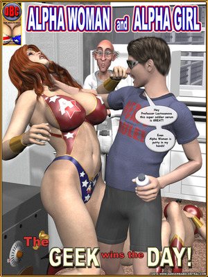 Alpha Woman- The Geek wins Day 8muses 3D Porn Comics