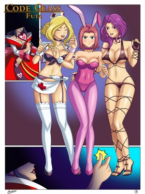 8muses Adult Comics Arabatos- Code Geass Futa image 01