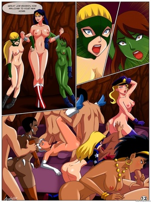 8muses Porncomics Arabatos- League of sex (DC Universe) image 11