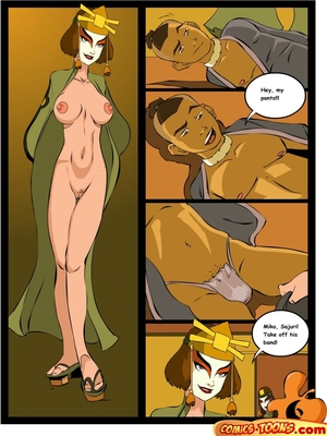 8muses Adult Comics Avatar Last Airbender- Sex in The School image 05