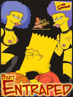 Bart Entrapped- Simpsons 8muses Adult Comics