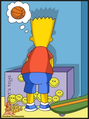 8muses Adult Comics Bart Entrapped- Simpsons image 02