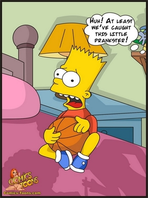 8muses Adult Comics Bart Entrapped- Simpsons image 05