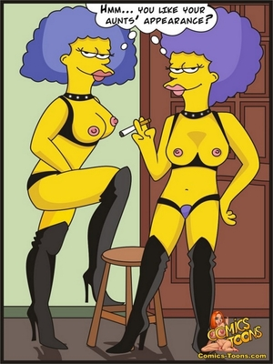 8muses Adult Comics Bart Entrapped- Simpsons image 06