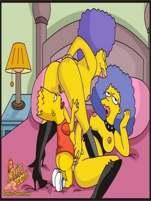 8muses Adult Comics Bart Entrapped- Simpsons image 09