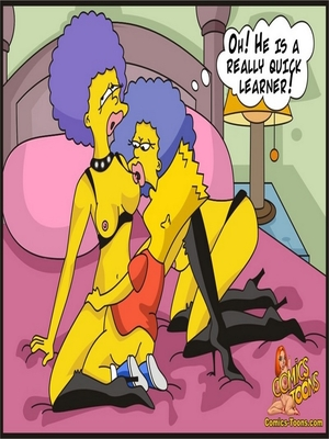 8muses Adult Comics Bart Entrapped- Simpsons image 10