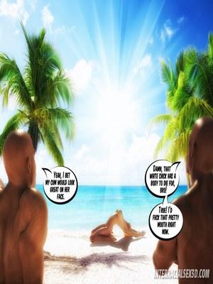 8muses 3D Porn Comics BBC Cum Slut On Vacation- InterracialSex3D image 02