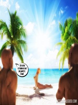 8muses 3D Porn Comics BBC Cum Slut On Vacation- InterracialSex3D image 03
