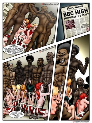 BBC HIGH The Head cheerleader 3 8muses Interracial Comics