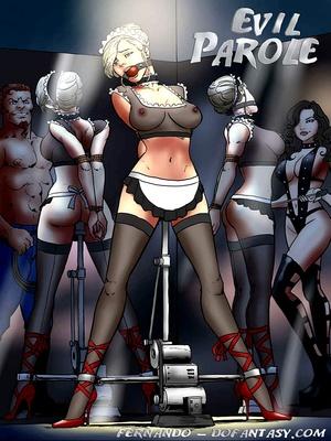 BDSM Bondage Evil Parole 8muses Porncomics