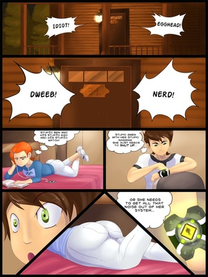 Ben 10- Gwen vs Fourarms 8muses Adult Comics
