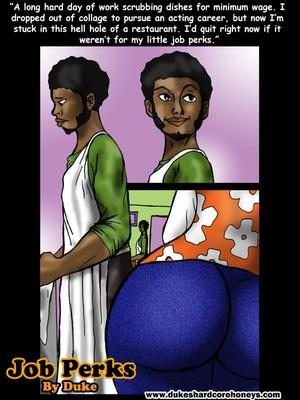 Big Girl Love Luvin- Job Perks,Duke Honey 8muses Interracial Comics