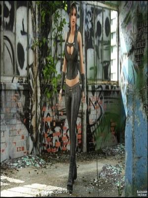 8muses 3D Porn Comics Blackadder- Below The City image 03