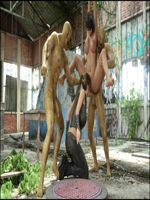 8muses 3D Porn Comics Blackadder- Below The City image 21