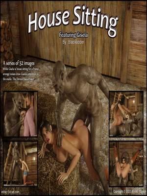 Blackadder- House Sitting 8muses 3D Porn Comics