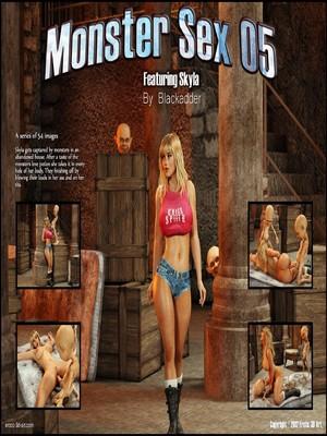 Blackadder- Monster Sex 05 8muses 3D Porn Comics
