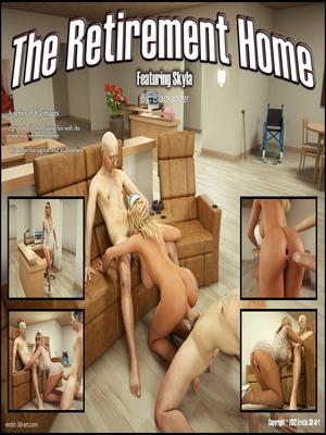 Blackadder- The Retirement Home 8muses 3D Porn Comics