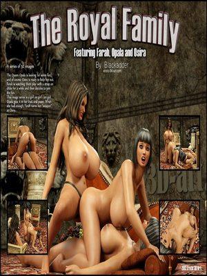 Blackadder -The Royal Family 8muses 3D Porn Comics