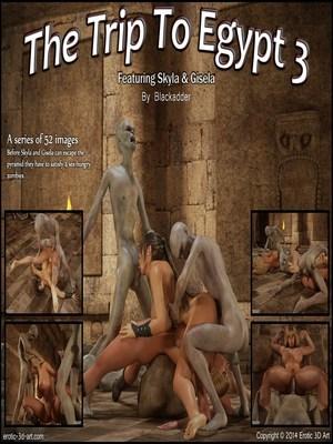 Blackadder- Trip to Egypt 3 8muses 3D Porn Comics